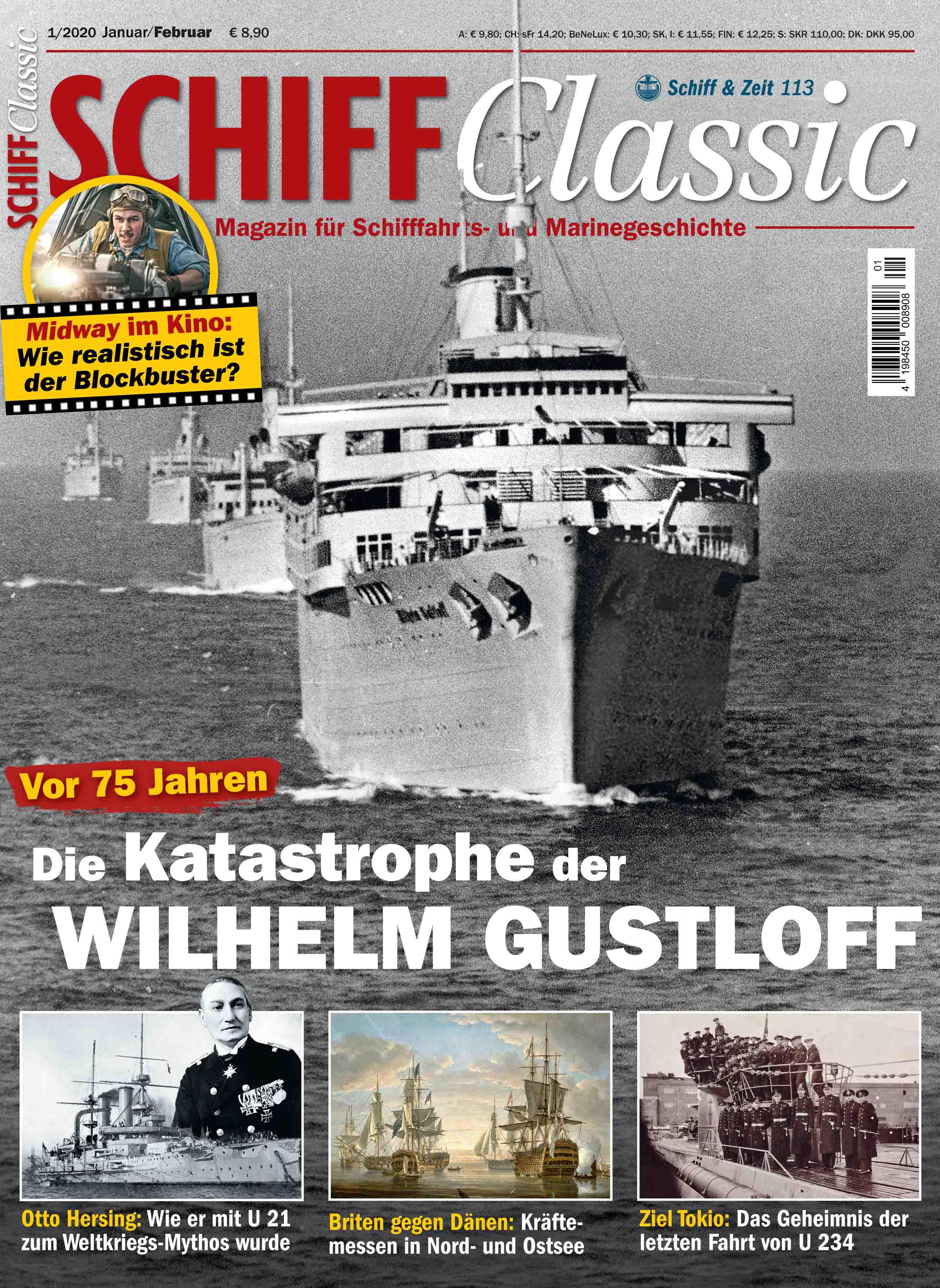 Vor 75 Jahren: Die Katastrophe der Wilhelm Gustloff